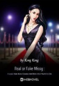 Real or Fake Missy Female